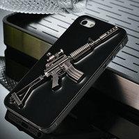 gun pattern aluminum hard case for iphone 5s,metal cover for iphone 5s,beautiful cover for iphone 5