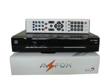 Stocks for Low price AZFOX S3S with wifi and iks for Nagra3 channels for South america