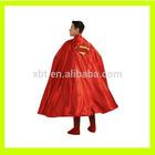 Adult red satin Cape Long Cloak
