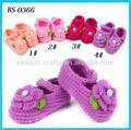 OEM/ODM personalizzati uncinetto fatto a mano maglieria estate scarpe bambino ingrosso