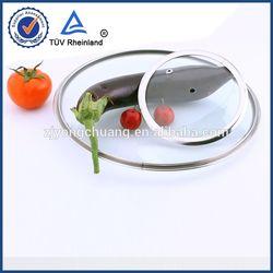 lidded stainless steel milk bucket lid knob handles cookware parts