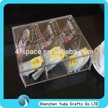 Acrylic organizer tea bag organizer acrylic tea bag organizer
