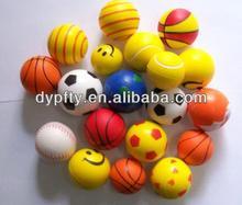 mini PU foam anti stress balls for promotion