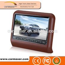 best price car headrest dvd player for mazda support wireless game USB/SD/FM/IR