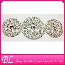 2014 fashion wholesale rhinestone brooch wedding favor