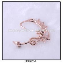 Copper Plated Vintage Dragon Ear Cuff Dragon Earring Ear Cuff