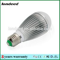 7w B22 silver coating bulb