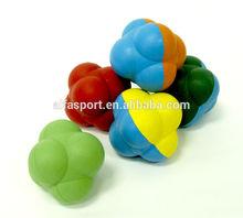 2015 wholesale rubber reaction random bounce ball