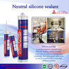 high quality neutral silicon sealant/ silicone insulating glass sealant/ anti fungus silicon sealant