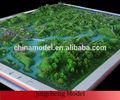 Topográficos y paisajismo modelos/modelos a escala de los diseños de paisajismo