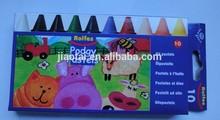 10pk jumbo wax crayons