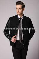Custom Latest Design Fashionable Mens Varsity Wool Leather Jackets