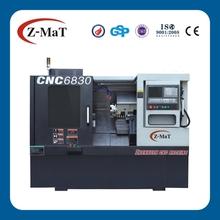 CNC6830-35 degree slant bed linear guide way tornos machine tools