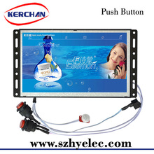7 inch digital multi media screen/ desk advertsing stand