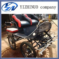 Sulky sightseeing marathon horse carriage / wagon with Disc Brakes