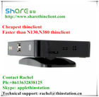 Hot sale mini pc Linux and Thinclient Fanless pc embedded FL100