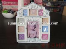 resin baby girl poto frame