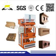 LY1-10 thailand soil interlocking brick machine/compressed earth blocks machines/clay brick making machine