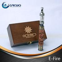 in stock Variable voltage 100%original e cigarettes vision e-fire v2