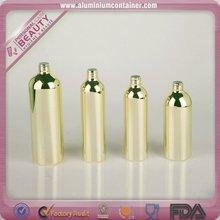 750 cosmetics aluminum bottles disposable