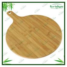 2014 new design bamboo pizza tray