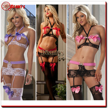 New high fashion lingerie , factory price underwear women photos sex girls underwear transparent