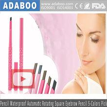 Makeup Pencil Waterproof Automatic Rotating Square Eyebrow Pencil 5-Colors Pick