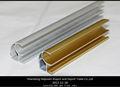 Perfil de alumínio porta de correr guarda-roupa