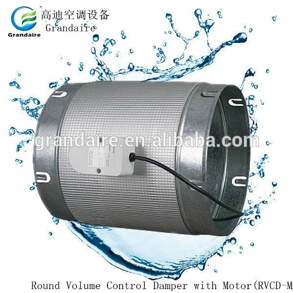 Hvac round air duct motorized damper buy round duct damper hvac duct dampers hvac motorized Motorized duct damper