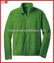 Fashionable men's polar fleece jacket sportswear full zip