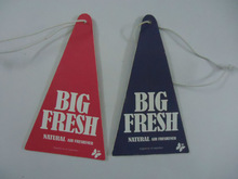promotional gift absorbent paper air freshener car perfume