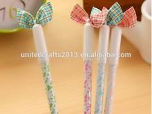 creative design girls bowknot gel pen