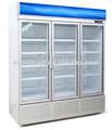 Alcance- em 3 porta display chiller/upright bebidas chiller