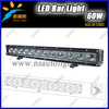 Sport Or Flood Beam 60W Led Work Light Bar,Single Row Led Working Light Bar,Led Working Light For Offroad Trucks 4x4