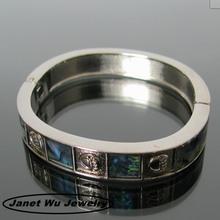 2014 New fashion plating zinc alloy metal magnetic bracelet