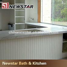 Newstar polish carrara white marble bar tops
