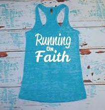 fshion ladies CVC sublimation printing v neck burn out t shirt Running Faith BO2091