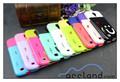 Made in china, telefone celular caso s4 coréia estilo sorriso tpu+pc caso para samsung galaxy s4