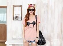 2014 summer fashion custom cheap wholesale printed korea design t shirt