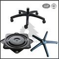 Dalian de alta qualidade OEM ferro fundido cadeira de escritório giratória peças de base