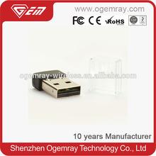 Ogemray GWF-7A05 150mbps mini usb wifi wireless adapter lan network CE FCC RoHs