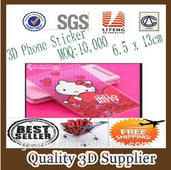 Guangzhou Lifeng daqin mobile skin templates 3d phone stickers