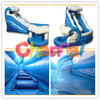 Giant inflatable water slide/the big curve inflatable water slide