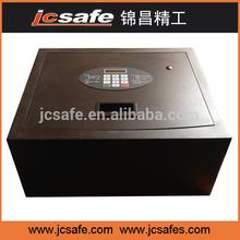 Laser cut top open in-room safe