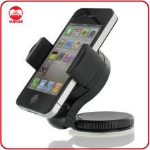 Mini 360 Degree Windshield Stand Universal Mobile Phone Car Mount Holder Bracket For iPhone 5/4 Samsung Phones GPS PSP