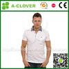 Garment supplier wholesale new fashion high end design color combination collar t shirts