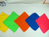 super cheap multi-color microfiber polyester bath towels