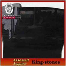 black granite tombstone headstone pictures