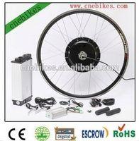 Factory sales directly,ebike conversion kit 48v 500w ebike kit electric bike kit with 48v 10ah rack battery