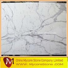 Italy snow white marble price of italian statuario marble floor tiles